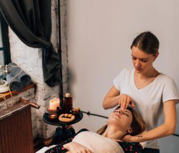 massageolie van De massage winkel